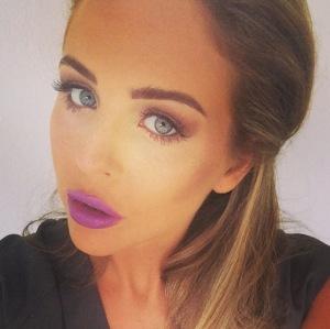 lydia-bright-purple-lipstick-ibiza-spain-september-2014